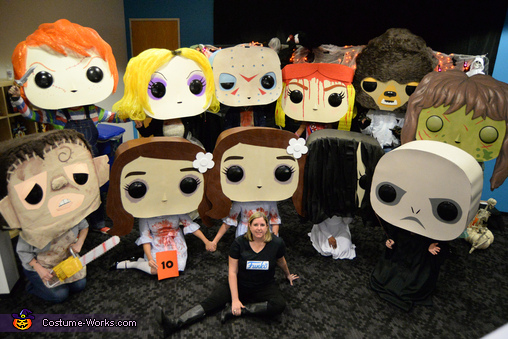 Funko POP Horror Movie Characters Costume