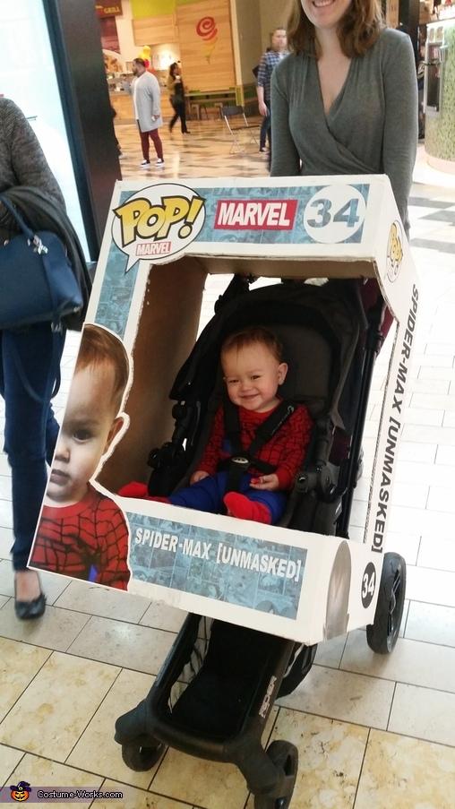 Funko Pop Spider Max Costume