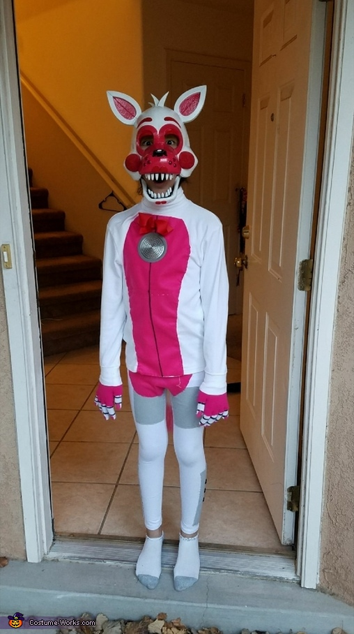 fnaf funtime foxy costume