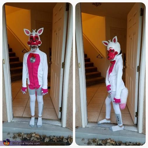 Funtime Foxy Homemade Costume