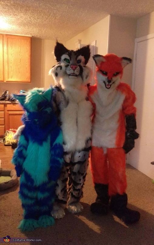Furry Gang Costume