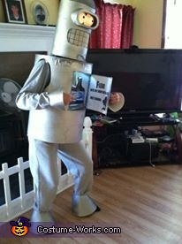 Futurama Flexo and Binder Homemade Costume
