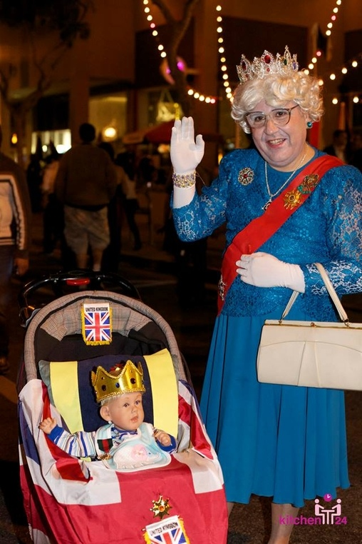Future King and Great Grandma Costume