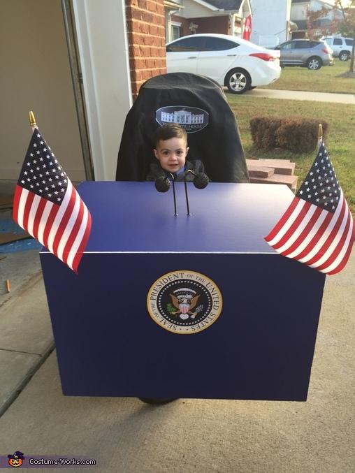 Future President Costume Diy Costumes Under 45