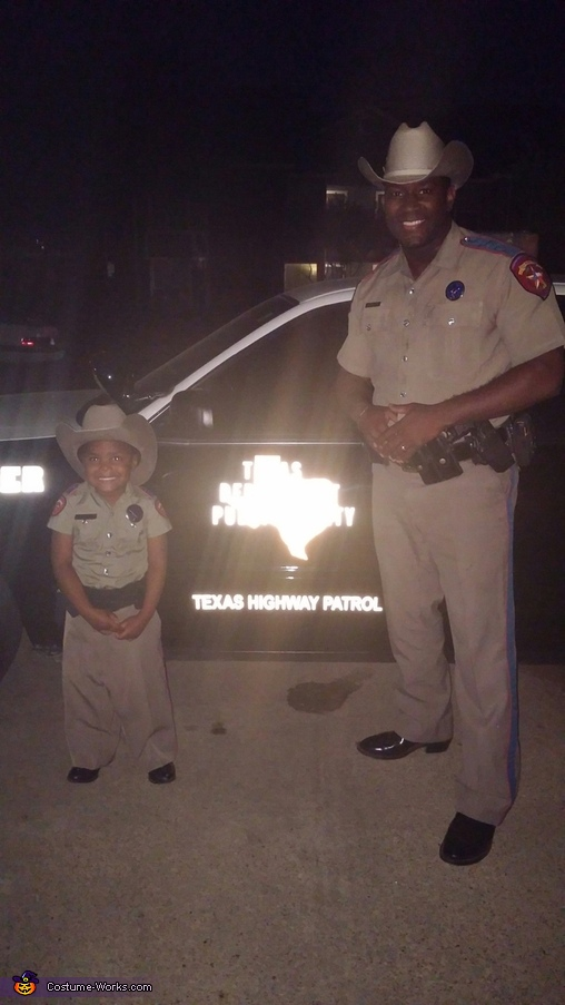 Future State Trooper Homemade Costume