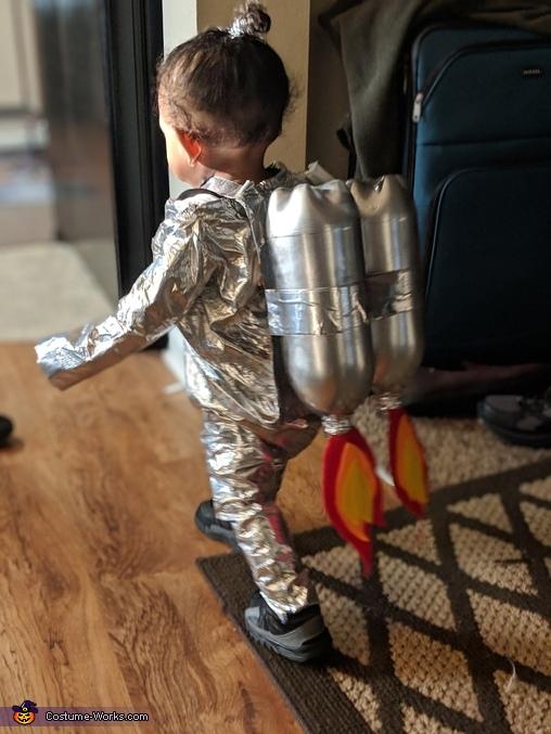Space baby, Futuristic Family Costume