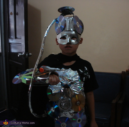 Futuristic Kid Costume