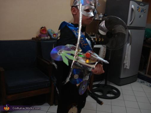 Futuristic Kid Homemade Costume