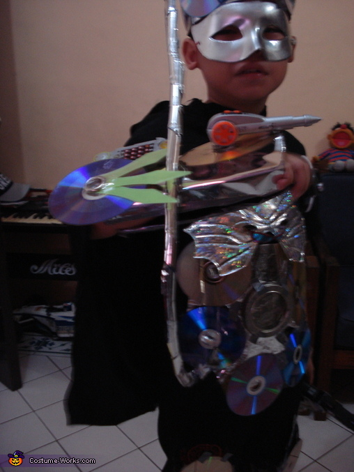 Futuristic Kid Homemade Costume