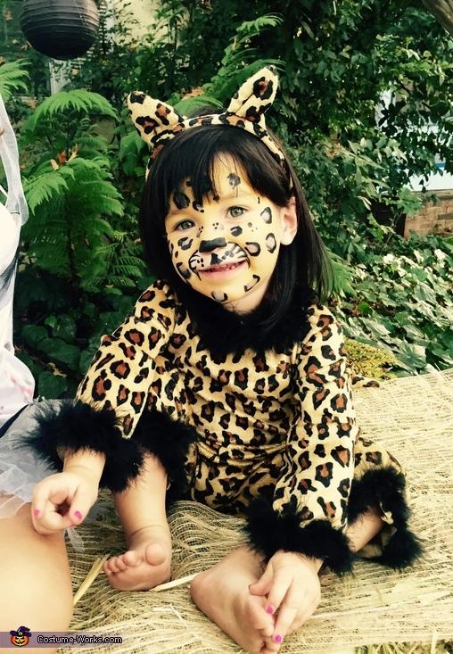 Fuzzy Leopard Costume