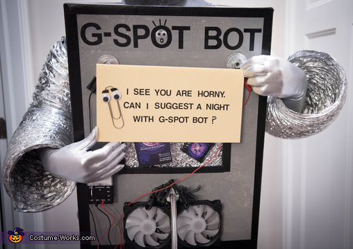 G-Spot Bot with Clippy, G-Spot Bot Costume