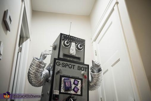 G-Spot Bot Happy, G-Spot Bot Costume