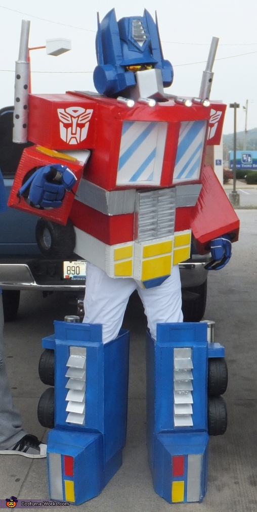 G1 Optimus Prime Homemade Costume