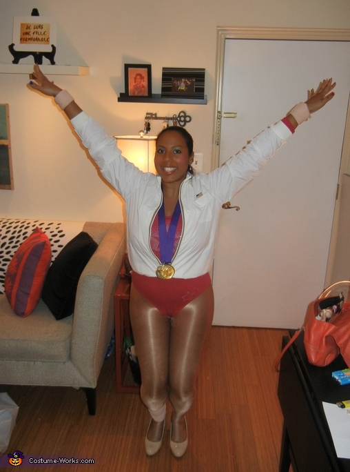 Gabby Douglas, USA Gold Medal Olympian Costume