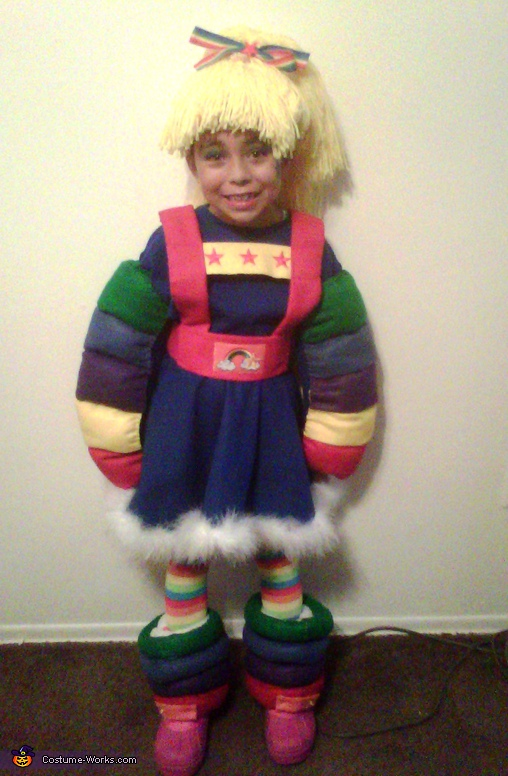 Rainbow Brite - Homemade costumes for girls