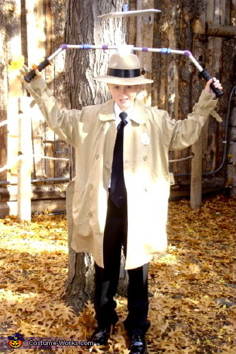 Inspector Gadget - Homemade costumes for boys