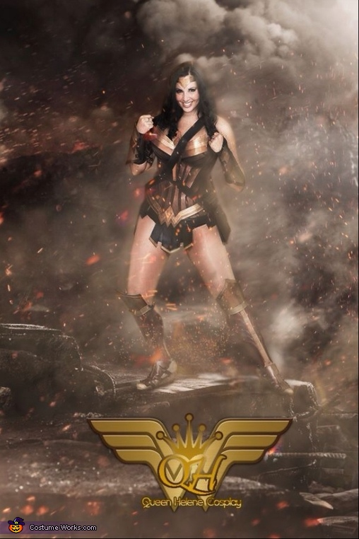 Gal Gadot Wonder Woman Homemade Costume