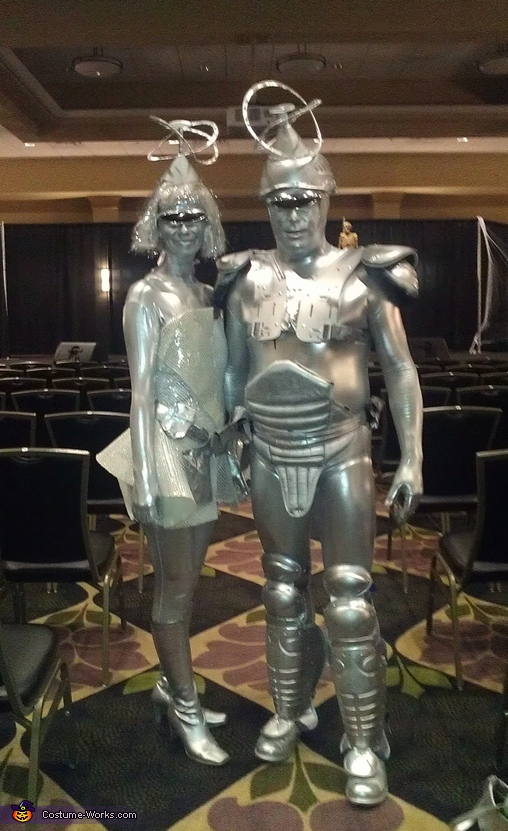 Galaxy Couple Costume