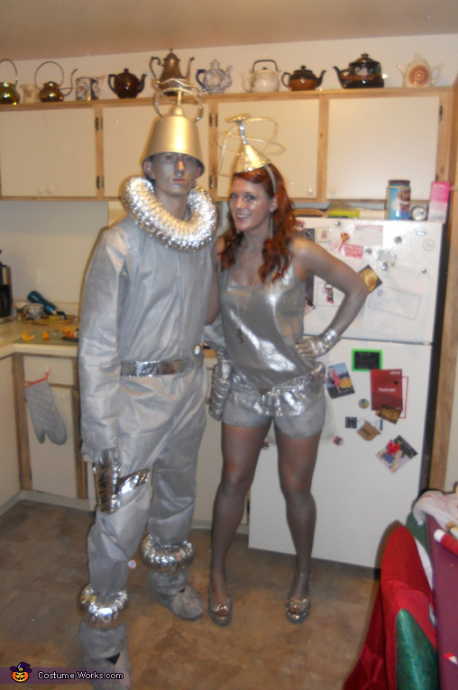 Galaxy Girl and Galaxy Guy - Homemade costumes for couples