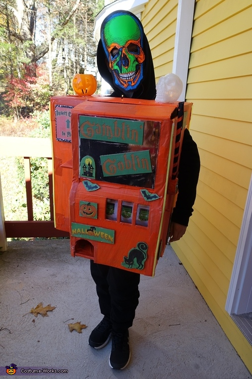 Gamblin' Goblin Costume