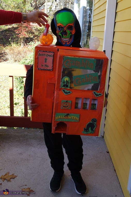 Gamblin' Goblin Homemade Costume