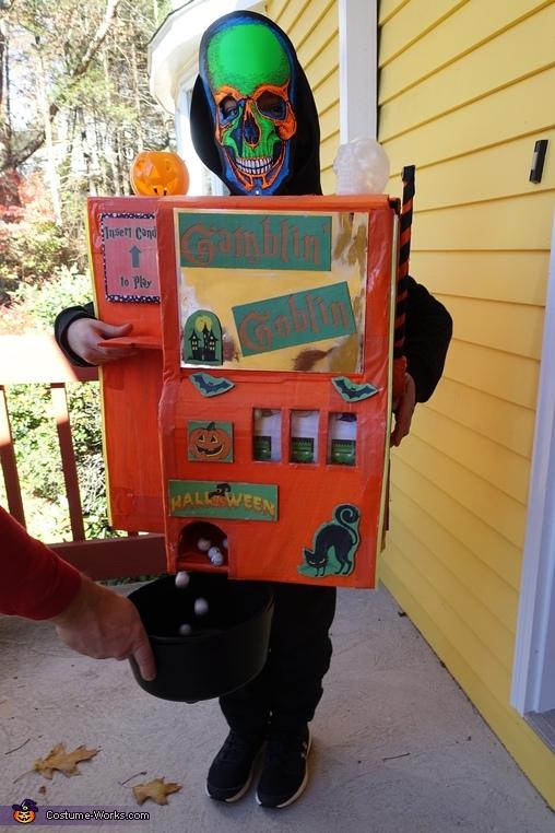 Gamblin' Goblin Homemade Costume