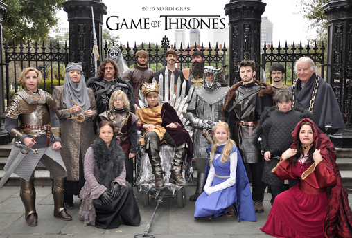 of Thrones Group Costume