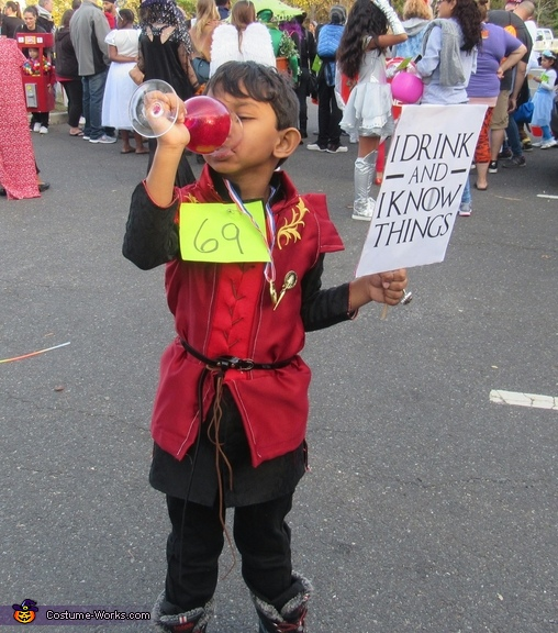 Tyrion lannister, Game of Thrones Family Costume