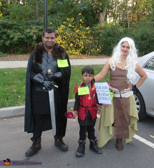 Game of Thrones Family Costume