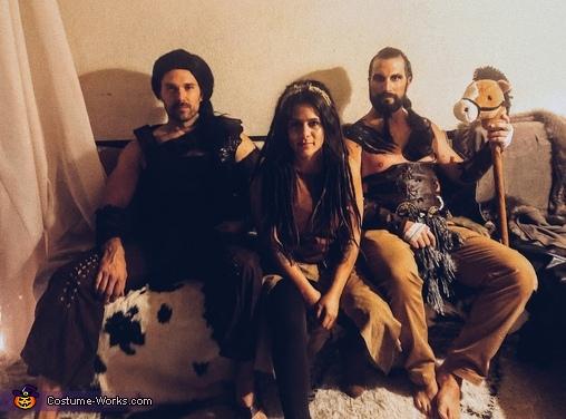 The Dothraki, Game of Thrones Group Party Costume