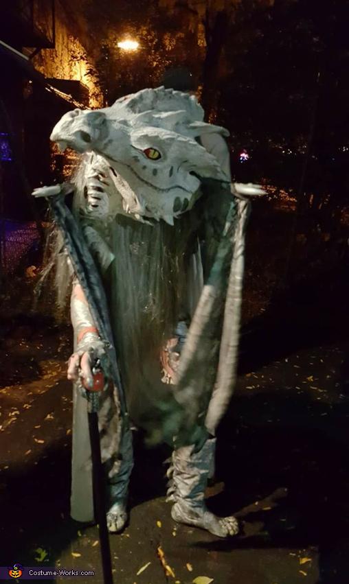 Poughkeepsie Boo ball 2017, Game of Thrones Ice Dragon Costume
