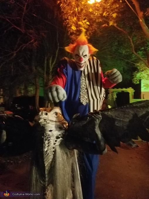 A Clown n Dragon  Halloween night, Game of Thrones Ice Dragon Costume