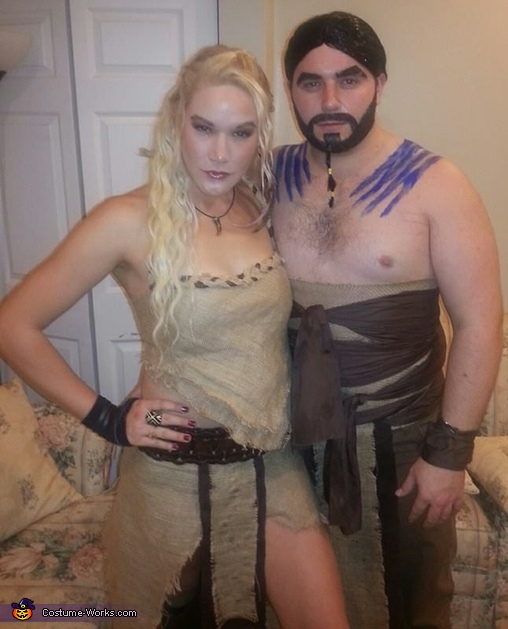 Game of Thrones: Khaleesi & Drogo Costume