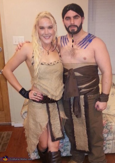 Khaleesi & Drogo, Game of Thrones: Khaleesi & Drogo Costume