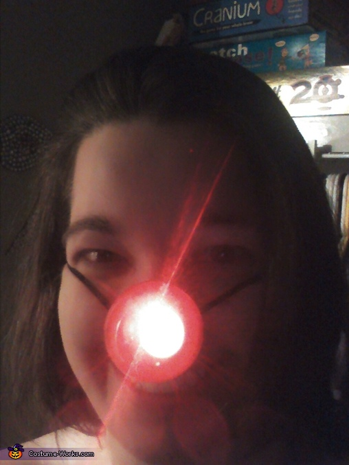 Rudolph nose!, Game Operation Costume