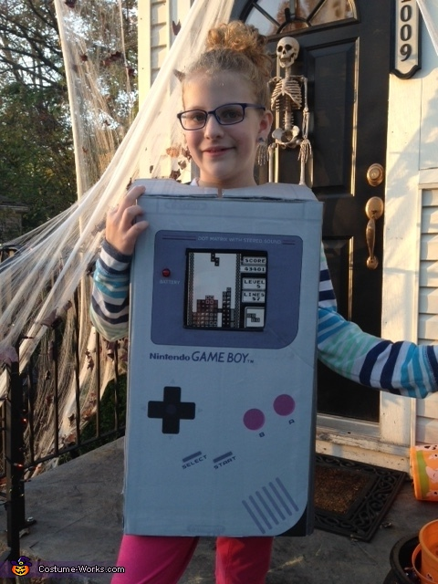 Gameboy Homemade Costume