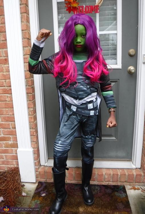 Gamora Costume