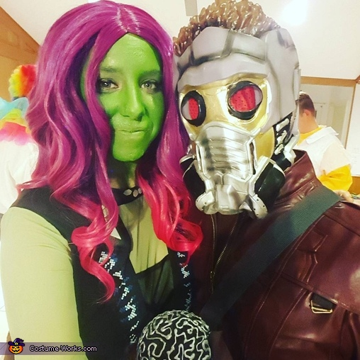 Gamora and Star-Lord Costume