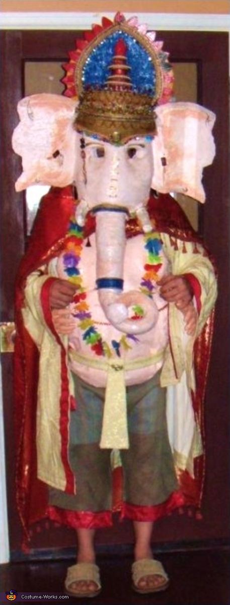 Hindu God Ganesh - Homemade costumes for men