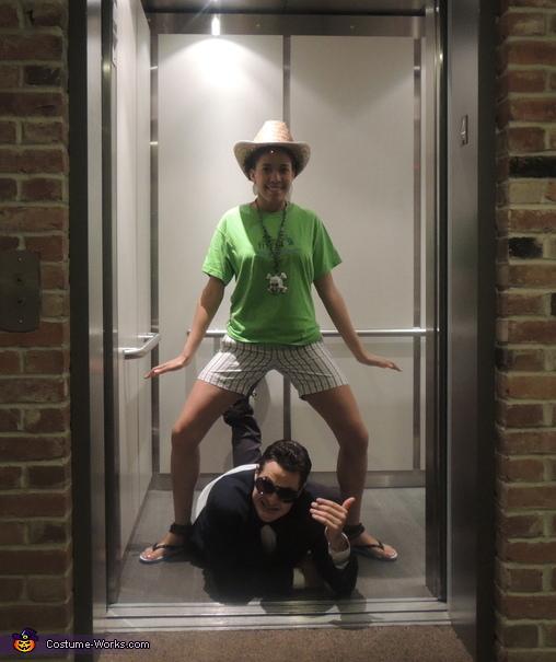 Gangnam Style Elevator Scene Costume