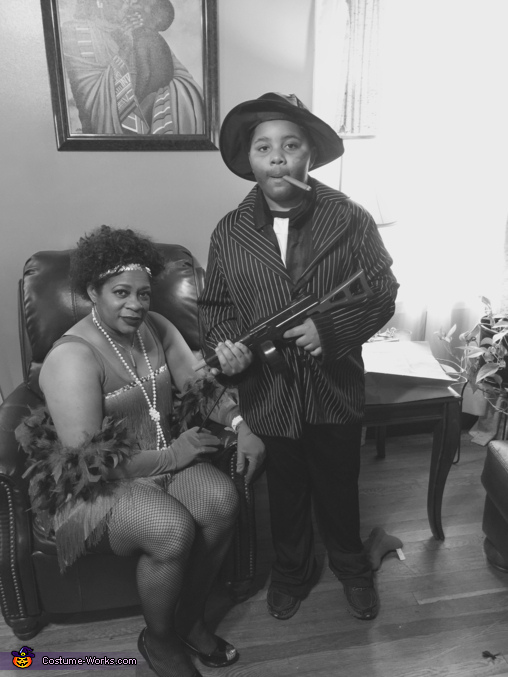 Gangster Family Homemade Costume
