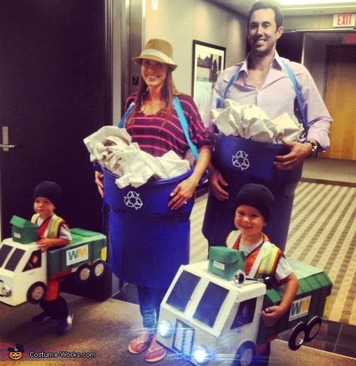 Garbage Family Costume