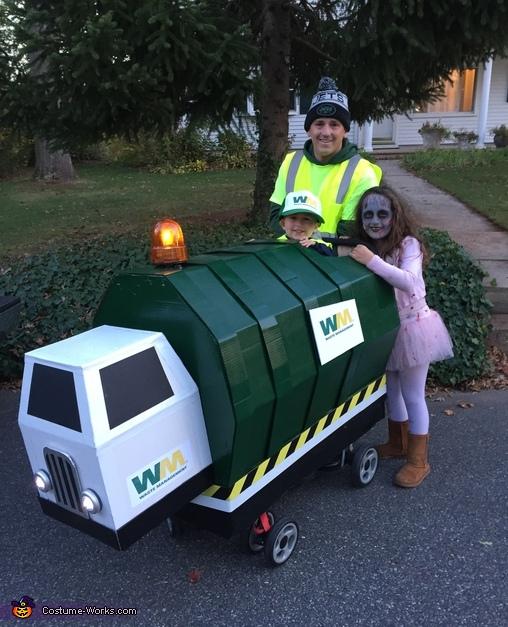 Garbage Man Homemade Costume