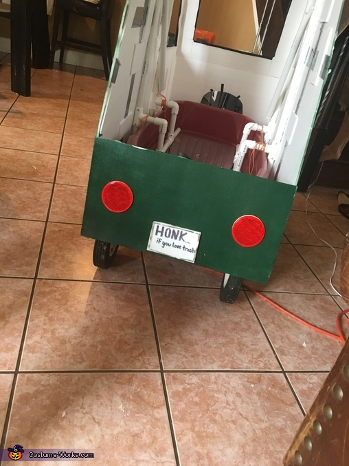 Garbage Truck Homemade Costume