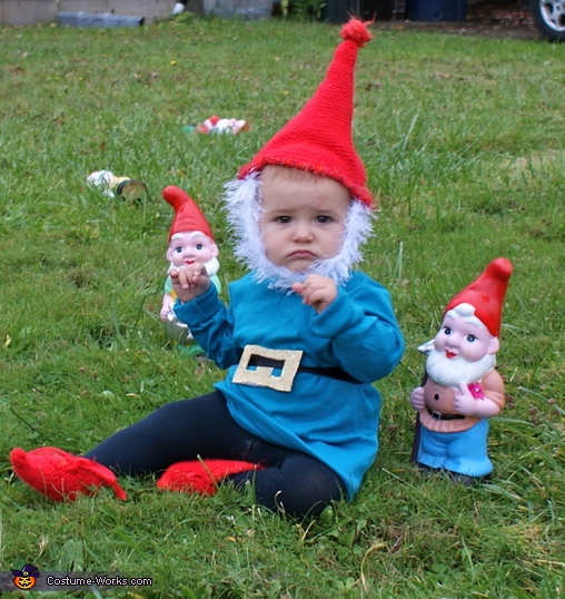 Garden Gnome - Homemade costumes for babies