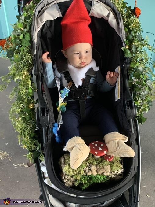 Garden Gnome Baby Homemade Costume