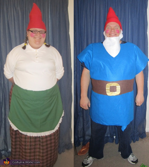 Homemade Garden Gnomes Costume
