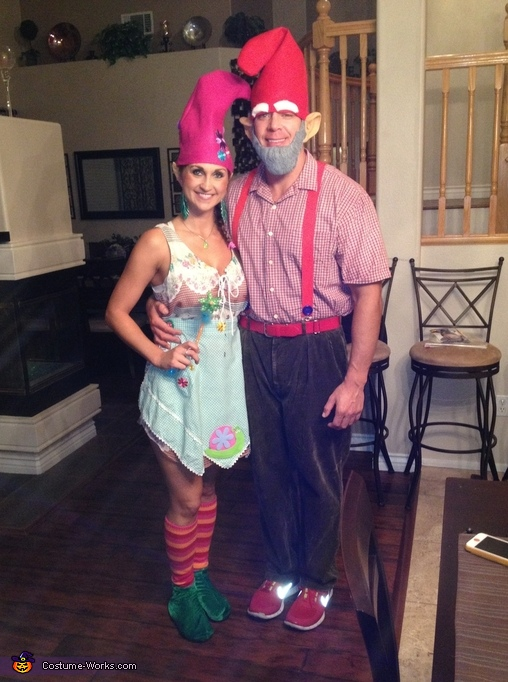 garden gnomes couples costume