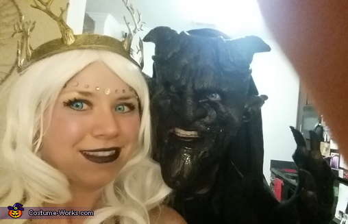 picture 3, Gargoyle and the Fae Costume