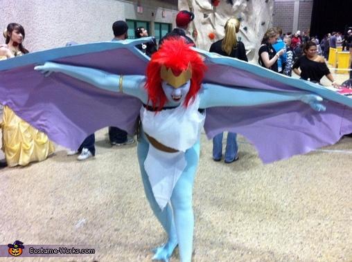 Gargoyle Demona Homemade Costume